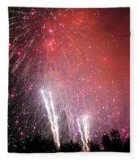 Fourth Of July Fleece Blanket