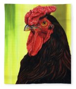 Fowl Emperor Fleece Blanket