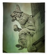 Fox Grotesque Fleece Blanket