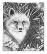 Fox Fleece Blanket