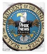 Fox News Presidential Seal Fleece Blanket