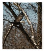 Fox River Eagles - 20 Fleece Blanket