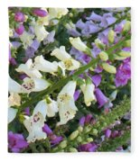 Foxglove Fancy Fleece Blanket