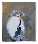 Foxy Lady Fleece Blanket