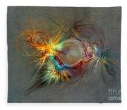 Fractal Art Beauty Fleece Blanket