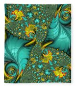 Fractal Art - Gifts From The Sea By H H Photography Of Florida Fleece Blanket
