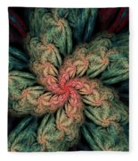 Fractal Fantasy 02-13-10 Fleece Blanket