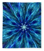 Fractal Flora 062610 Fleece Blanket