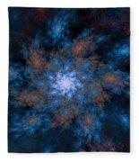 Fractal Floral Fantasy 072010 Fleece Blanket