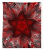 Fractal Garden 3 Fleece Blanket