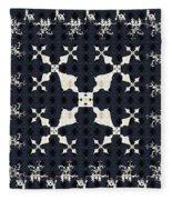 Fractal Patterns Fleece Blanket