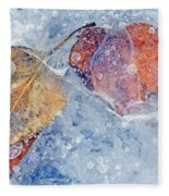 Fractured Seasons Fleece Blanket