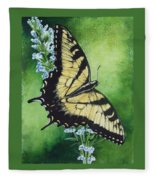 Fragile Beauty Fleece Blanket