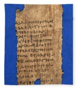 Fragment Of Hippocratic Oath, 3rd Fleece Blanket