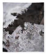 Fragmented Ice Fleece Blanket