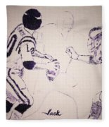 Fran Tarkenton Fleece Blanket