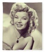 Frances Langford, Vintage Actress Fleece Blanket