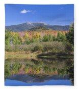 Franconia Autumn Reflections Fleece Blanket