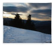 Franconia Notch State Park - Lincoln New Hampshire Usa Fleece Blanket