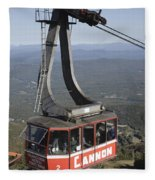 Franconia Notch State Park New Hampshire - Aerial Tramway Fleece Blanket