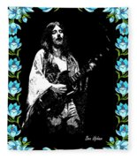 Frank Marino Of Mahogany Rush 4-14-78 Fleece Blanket