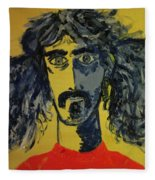 Frank Zappa Fleece Blanket