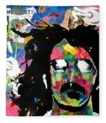Frank Zappa Pop Art Fleece Blanket