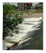 Frankenmuth Lager Mill II Fleece Blanket