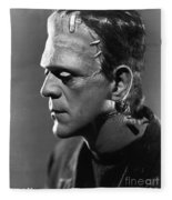 Frankenstein Fleece Blanket