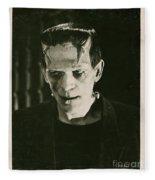 Frankensteins Monster Boris Karloff Fleece Blanket
