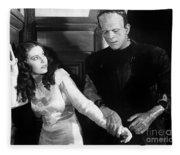 Frankensteins Monster Molests Young Girl Boris Karloff Fleece Blanket