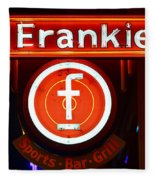 Frankie's Fort Worth Fleece Blanket