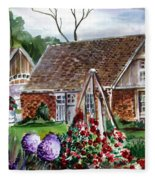 Franklin Park Conservatory Education Pavilon Fleece Blanket