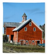 Franklin Spring Barn Fleece Blanket