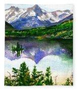 Franks Painting Fleece Blanket