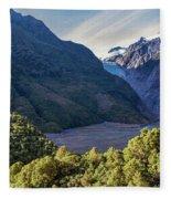 Franz Josef, New Zealand Fleece Blanket