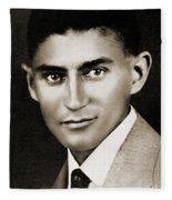 Franz Kafka Fleece Blanket