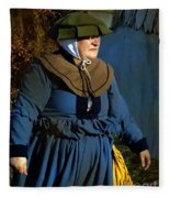 Frau Kitzler Goes Hunting Fleece Blanket