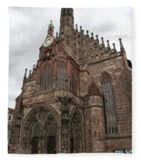 Frauenkirche - Nuremberg Fleece Blanket