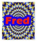Fred Fleece Blanket