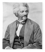 Frederick Douglass Fleece Blanket