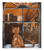 Fredrick's Window Fleece Blanket