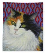 Fred's Cat Fleece Blanket