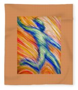 Free Fall Fleece Blanket