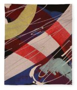 Free Falling - 278 Fleece Blanket
