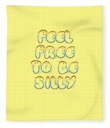 Free To Be Silly Fleece Blanket