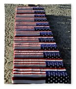 Freedom Costs Fleece Blanket