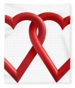 Freedom Love Fleece Blanket