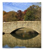 Freedom Park Bridge Fleece Blanket