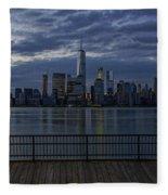 Freedom Tower Fleece Blanket